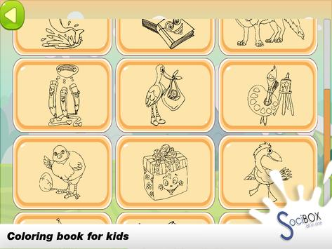Coloring Book For Kids Animal screenshot 3