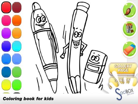 Pencil Coloring Book poster