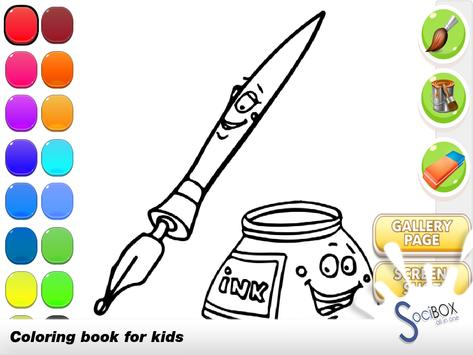 Pencil Coloring Book apk screenshot