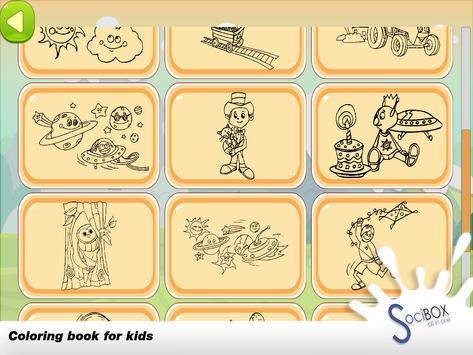 Planet Coloring Book screenshot 10