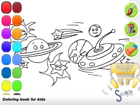 Planet Coloring Book screenshot 8
