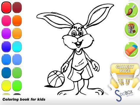 Rabbit Coloring Book screenshot 5