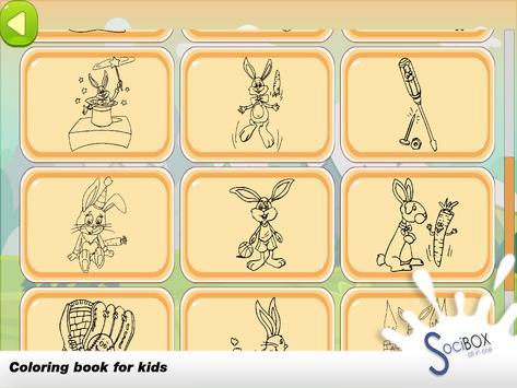 Rabbit Coloring Book screenshot 11