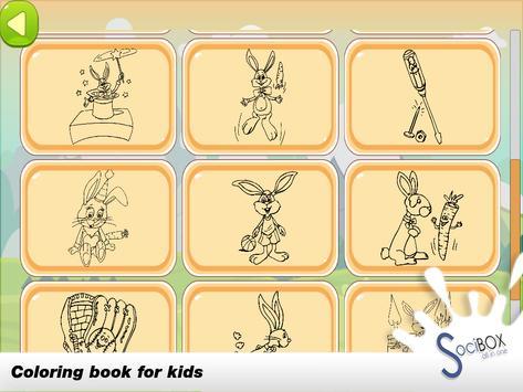 Rabbit Coloring Book screenshot 3