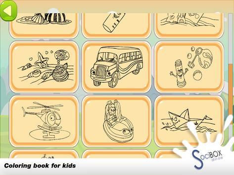Sea Wiew Coloring Book screenshot 10