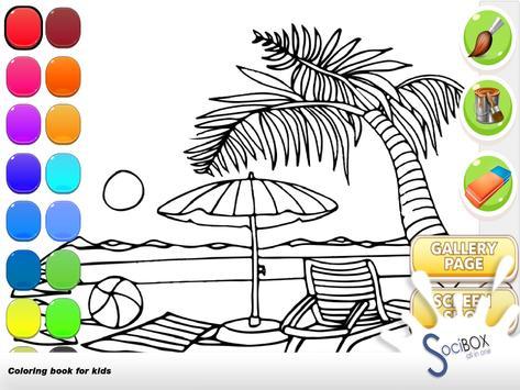 Sea Wiew Coloring Book screenshot 12