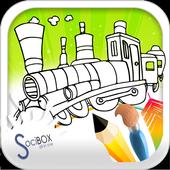 Train Coloring icon