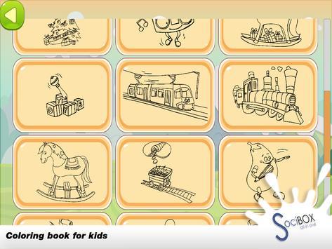 Train Coloring screenshot 10