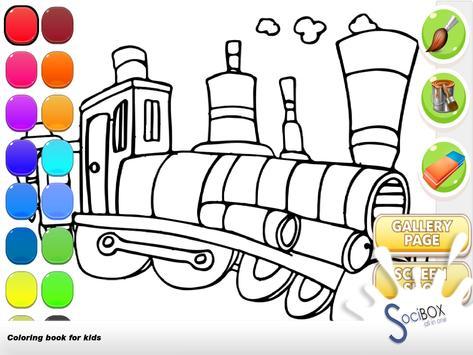 Train Coloring screenshot 12