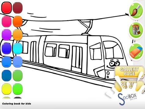 Train Coloring screenshot 13