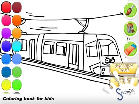 Train Coloring screenshot 1