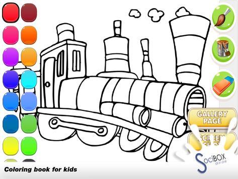 Train Coloring screenshot 8