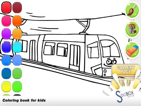 Train Coloring screenshot 9