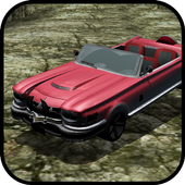 roadster red car game icon