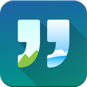 Quote It - Quote Maker & Wallpaper Generator icon