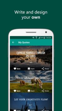 Quote It - Quote Maker & Wallpaper Generator apk screenshot