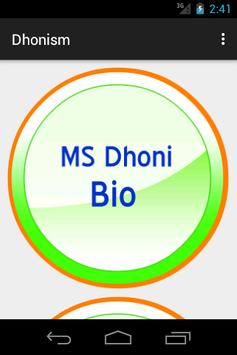 Dhonism - We Love MS Dhoni poster