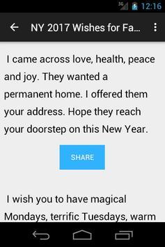 Happy New Year 2017- Pics, SMS screenshot 3