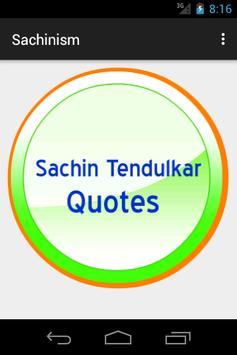 Sachinism - We Love Sachin poster