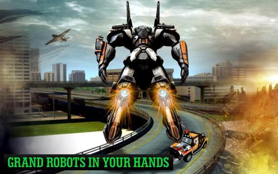 Grand Robot Flying screenshot 7