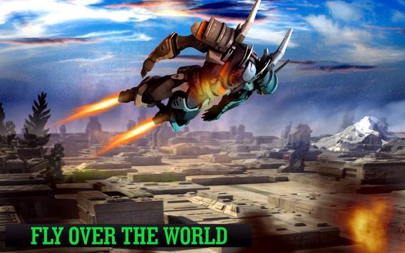 Grand Robot Flying poster