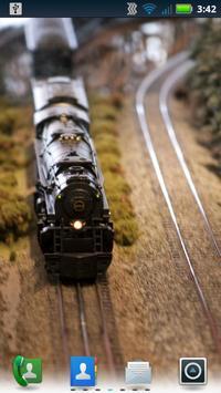 Model Trains Live Wallpaper poster