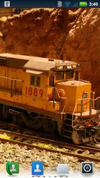 Model Trains Live Wallpaper apk screenshot