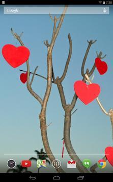Valentine's Day Live Wallpaper screenshot 3