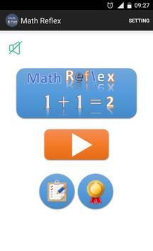 Math Reflex poster