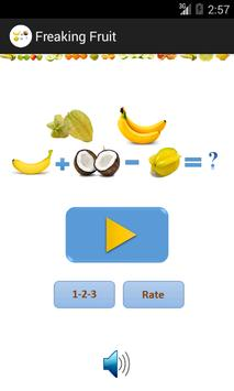 Fruit Math poster