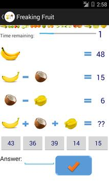 Fruit Math apk screenshot