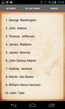 U.S. Presidents screenshot 4