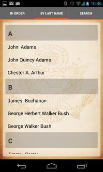U.S. Presidents screenshot 5