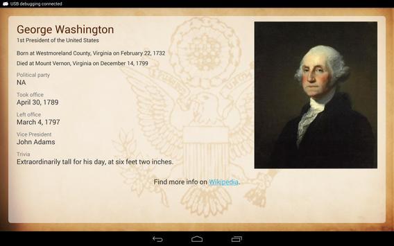 U.S. Presidents screenshot 9