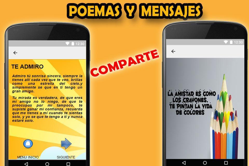 Frases De Amistad для андроид скачать Apk