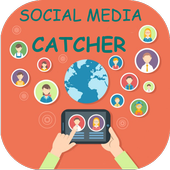 Social Media Catcher - Easy, Simple and Fast icon