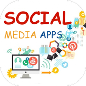Social Media Apps - Simple and Easy use icon
