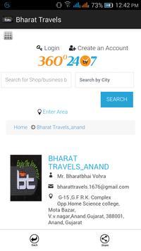Bharat Travels apk screenshot