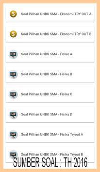UNBK SMA/MA 2018-SOAL-SOAL PILIHAN SERING KELUAR screenshot 1