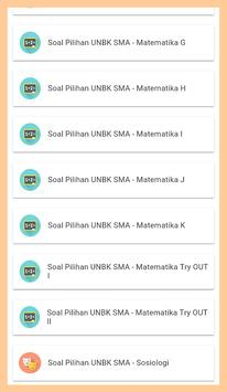UNBK SMA/MA 2018-SOAL-SOAL PILIHAN SERING KELUAR screenshot 3