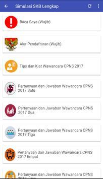 Simulasi SKB CPNS Terlengkap screenshot 8