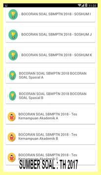 SBMPTN 2018-KUMPULAN SOAL PILIHAN SERING KELUAR apk screenshot