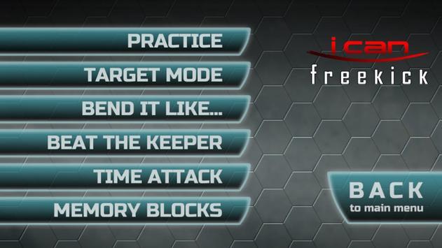 I Can Freekick Lite apk screenshot