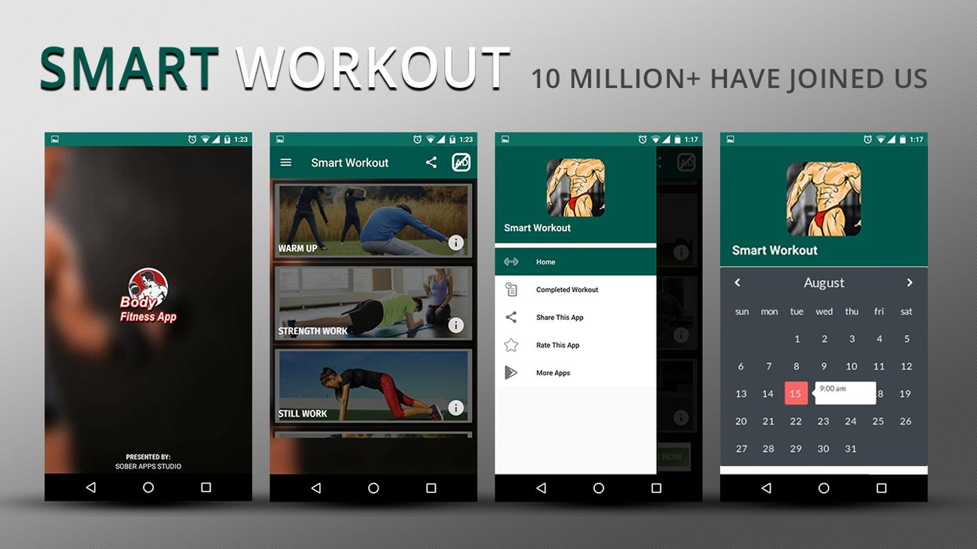 8056cf44683 Home Workout Trainer   Fitness Coach  Get in Shape for Android - APK ...