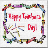 Special Teacher's Day Card icon