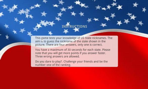 US State Nicknames Free screenshot 6
