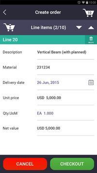 SAP Sales Order Creation apk screenshot