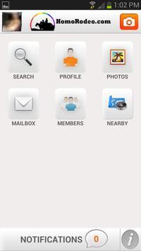 HomoRodeo.com apk screenshot