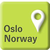 RailMapNote  Norway Oslo Train icon