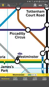 RailNote Lite London Rail+Tube poster